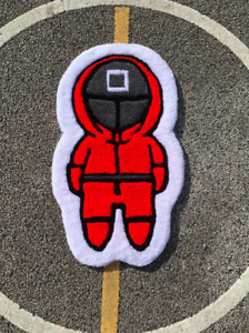 Netflix Squid Game Red Suit Soldier / Tufted Rugs / Mat - Custom Modern Decor