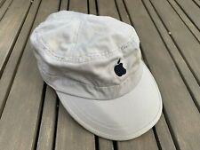 Apple Computers Strapback Hat Tan Beige Tech Software