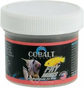 Cobalt Fry Minis Fish Food 1.2oz