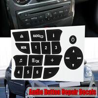 Pulsanti di riparazione adesivo decal set per Renault Clio / Megane 2009 CD