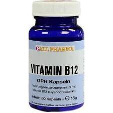 VITAMIN B12 GPH 3 µg Kapseln 60 St PZN 3379543