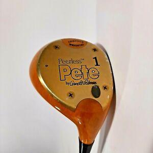 "Peerless Pete By Arnold Palmer 1 Fairway Wood RH True-Temper EI-70 Carbon 44.5"""