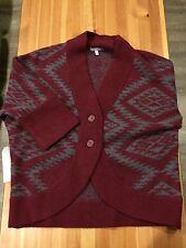 NWT / $169 ~ Horny Toad Women's Merino Shinzo Cardigan Sweater / Lg