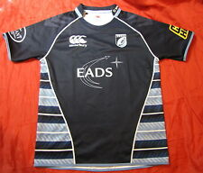 CARDIFF BLUES RUGBY UNION home jersey shirt CANTERBURY 2010-2011 adult SIZE XL