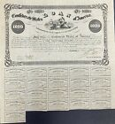 $1000 Confederate States Coupon Bond – Criswell 93, Ball 95