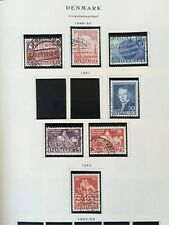 More details for denmark: 45 scott album pages containing 176 stamps. see all 37 photos below