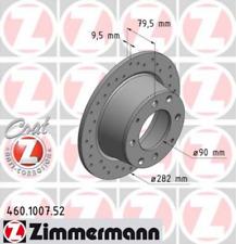2x Bremsscheibe für Bremsanlage ZIMMERMANN 460.1007.52