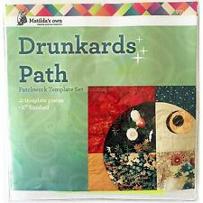 "Matildas Own Drunkards Path 2"" Miniature Set"