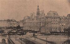 PARIS COMMUNE 1871. Parc d'Artillerie de l'Hotel de Ville (16 Mai 1871) c1873