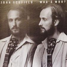 JOHN SCOFIELD Who's Who ? US Press Novus AN 3018 1979 LP