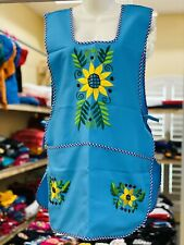 New listing Craft Apron, (One Size Fits Most ), Mexican Floral Embroidery