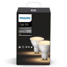6x Philips Hue Gu10 Spotlight White Ambience Wireless LED Bulb 5.5w Smart Home