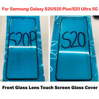 Front Glass Lens Touch Screen For Samsung Galaxy S20/S20 Plus/S20 Ultra 5G Parts