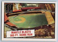 1997  MICKEY MANTLE - Topps COMMEMORATIVE Baseball Card # 30 - NEW YORK YANKEES