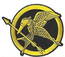 Mockingjay Hunger Games Movie Logo Hat Shirt Jacket Embroidered Patch