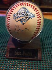Greg Maddux Official Ball 1995 World Series