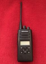 KENWOOD NX-3300 UHF 400-520 MHz NEXEDGE Portable Radio New Battery