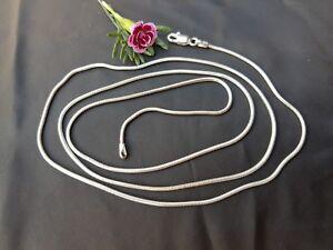 Silberketten, 82 cm lang, Sterlingsilber 925