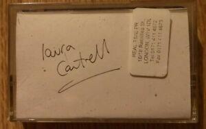 Laura Cantrell - Interview Cassette - 2002 - 48 minutes - UNIQUE ITEM