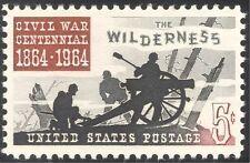 USA 1964 American Civil War/Wilderness/Cannon/Military/Battles 1v (n43619)