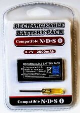 GDreamer DSi Rechargeable 2000mAh Battery Pack + Screwdriver for Nintendo DSi