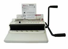 Renz Plastic And Wire Comb Binder Eco S360 Binding Machine Mint Plus Extras