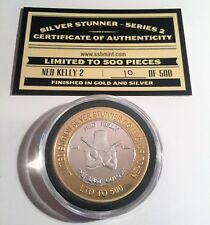 Ned Kelly #2 Silver Stunner Coin With C.O.A. Limited To Only 500 Series 2