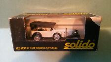 Solido 1:43  Mercedes SS 1928    neuf en boite