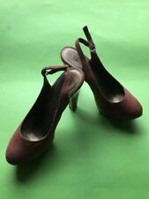 New Look Patternless Peep Toe Formal Heels for Women