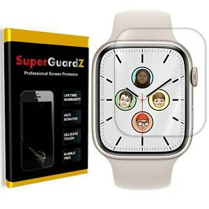 SuperGuardZ Clear FULL COVER Screen Protector For Apple Watch Series 7 (41&45mm)