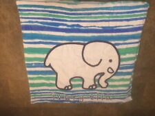 New Ivory Ella Blue/Green/White Striped High Quality Multicolored Beach Towel