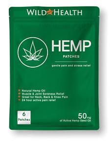 Hemp Patches (50MG). Pain, Stress, Anxiety, Arthritis & Fibromyalgia Relief