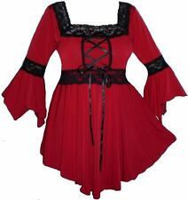 Renaissance Boho Mariage sexy gypsy Witchy gothique corset top plus taille 28 4x