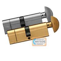 Thumb Turn Euro Cylinder Anti Snap Bump Pick High Security UPVC Door Lock Barrel
