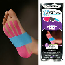 4x Kinesio Pre-Cut Foot Application Tape Muscle Support Kinesiology FREE P&P