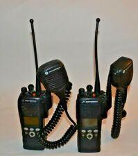 Lot of 2 Motorola XTS2500  700/800 MHz  2 WAY P25 trunking radio  , H46UCF9PW6AN