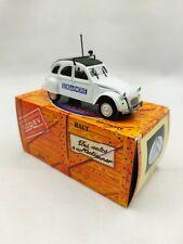 Citroën 2cv 6 1979 Gendarmerie 1/43 Norev édition Hachette