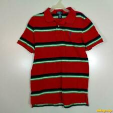 POLO by Ralph Lauren S/S Cotton Polo Shirt Boys Size L 14/16 Red/blue