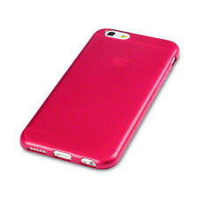 Impact Resistant Flexible Gel Case Ultra-Slim Cover  Red For iPhone 6 & 6S