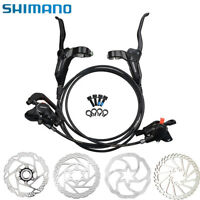 SHIMANO BR-BL-M315 MTB Black Hydraulic Disc Brake Set Front and Rear 160mm Rotor