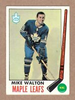 1969-70 Topps #50 Mike Walton Toronto Maple Leafs Near Mint NM condition