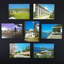 """Lot Of 7 Vintage Japan Post Cards FUKUDA 4 x 5.5"""" Old Collectible Gift"""