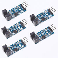5Pcs Slot-type Optocoupler Module Speed Measuring Sensor for Arduino 3.3V-5V