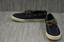 Sperry Bahama II Varsity STS21522 Casual Sneaker, Mens' Size 10.5, Navy