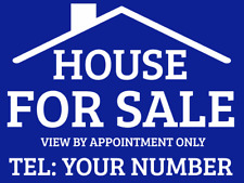 House For Sale Sign Boards x2