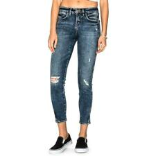 Silver Jeans Co. Womens Avery Blue Acid Wash Ankle Jeans Juniors 31 BHFO 2538