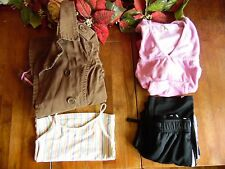 MIX LOT USED GIRL CLOTHES GAP JACKET SIZE 6/7 2 PCS SIZE 5/6 1 PC SIZE 4/5