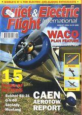 QUIET & ELECTRIC FLIGHT INTERNATIONAL MAGAZINE 2006 AUG SKYLADY , WARC SRE