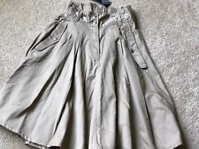 French Connection Tailspin Twill Flare Skirt, Size 4 NWT