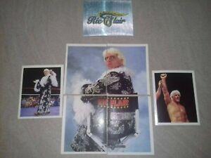 RICK FLAIR  WRESTLING 7 Stickers BY MERLIN WWF DENI MARST